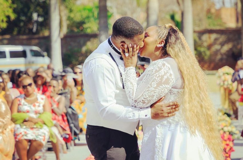 CHIEDZA KAMBASHA'S AFRICAN WEDDING PICTURES RELEASED!