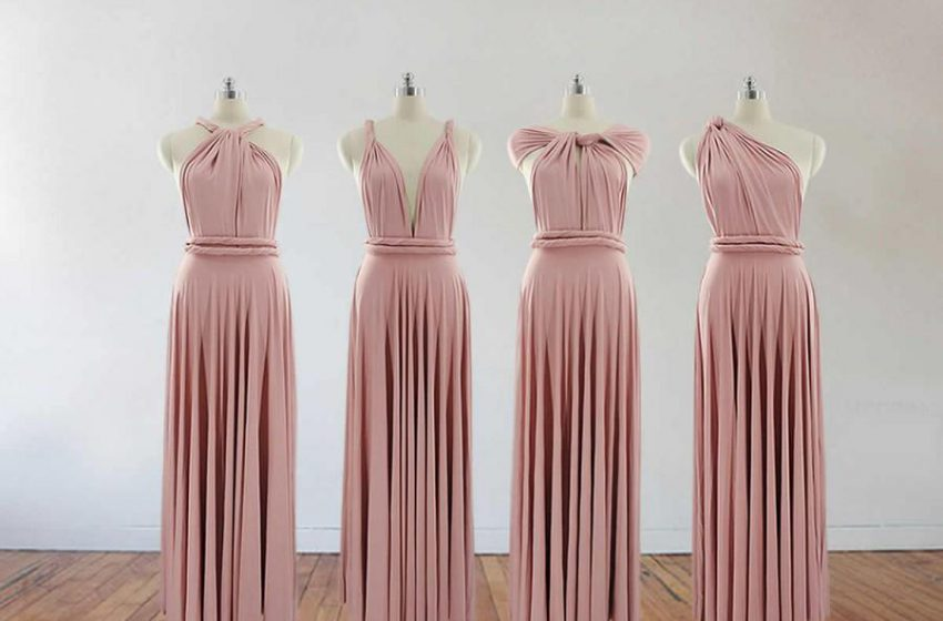 Long Bridesmaids Dresses for Every Wedding