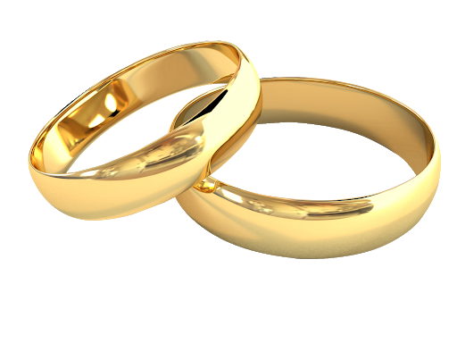 Christian Couples Rings – Overview & Detail