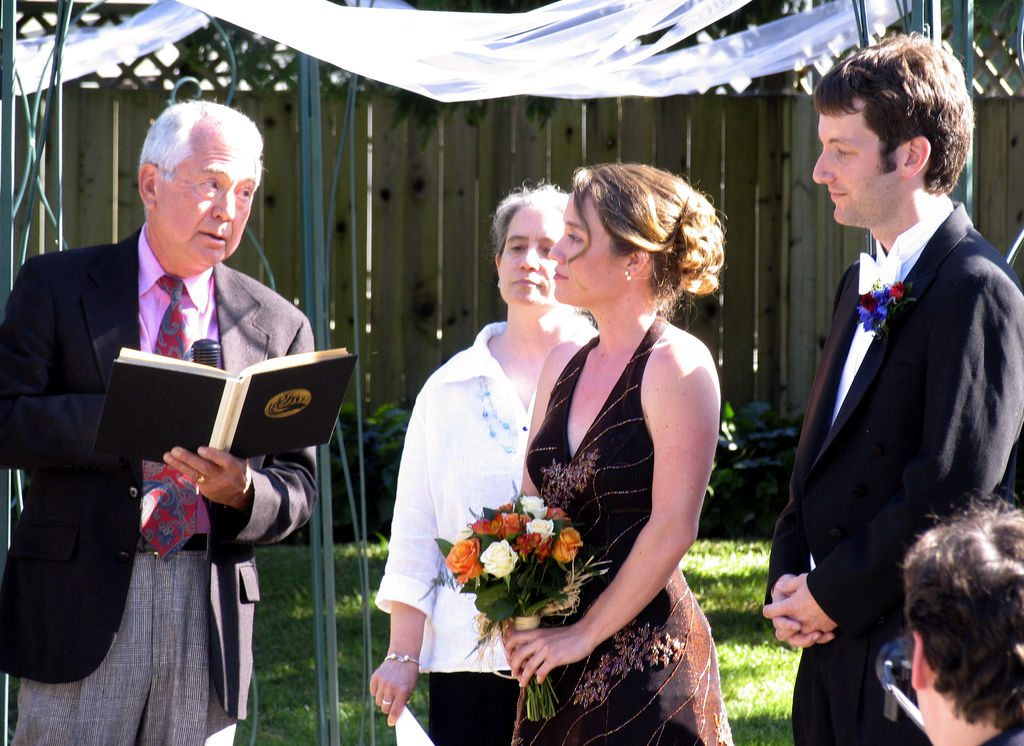 Role of a Wedding Officiant